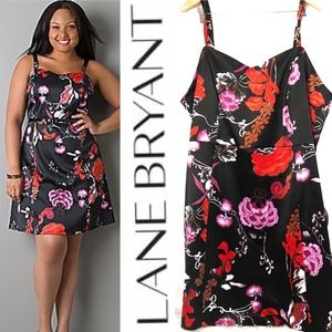 Lane Bryant Formal Floral Convertible Dress NWT 28